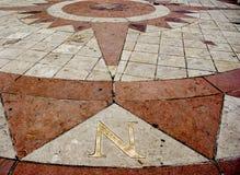norr compas Arkivbild