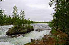 Norr flod Arkivfoton