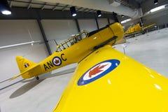 Norr - flygplan för amerikanHarvard fläck II royaltyfria foton