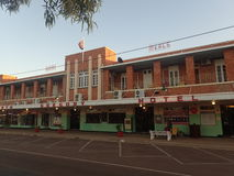 Norr Gregory Hotel, Winton, Queensland Arkivbild