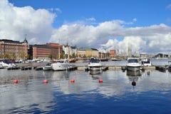 Norr hamn i Helsingfors royaltyfri bild
