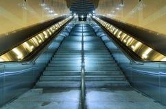 Norr Hollywood gångtunnelstation royaltyfri foto