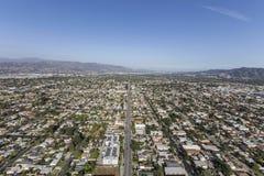 Norr Hollywood Kalifornien eftermiddagantenn royaltyfri foto
