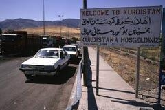 1993 norr Irak - Kurdistan Arkivfoto
