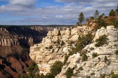 Norr kant av grandet Canyon Royaltyfri Fotografi