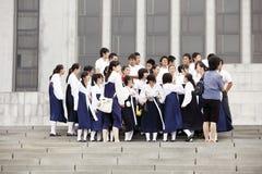 norr korea 2011 Fotografering för Bildbyråer
