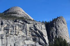 Norr kupolYosemite nationalpark Royaltyfria Bilder