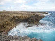 Norr kust Bonaire Royaltyfria Bilder