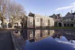 Norr kvadrat, konstmitt, Christchurch, Nya Zeeland arkivbilder