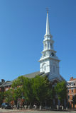 Norr kyrka av Portsmouth i New Hampshire Royaltyfri Fotografi