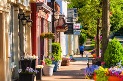 Norr Main Street Royaltyfria Bilder