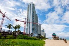 Norr Miami Beach Royaltyfri Foto