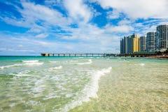 Norr Miami Beach Arkivfoto