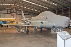 'Norr a-' modell - amerikansk sabel F-86 Arkivbild
