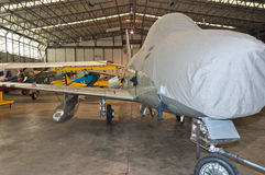 'Norr a-' modell - amerikansk sabel F-86 Fotografering för Bildbyråer