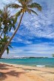Norr Pattaya strand Royaltyfri Bild