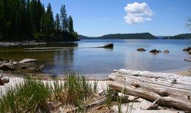norr payette för lake Arkivbilder