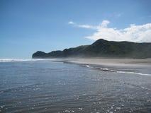 Norr Piha strand Royaltyfri Bild