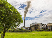 Norr Queensland Sugar Mill Royaltyfri Foto