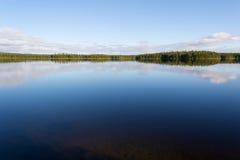 Norr sjö Arkivbild