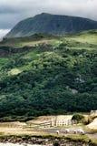 norr snowdonia eniga wales för kungarikeberg Arkivfoton