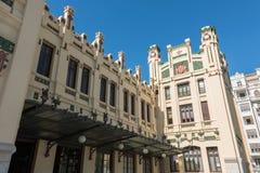 Norr station Valencia, Spanien Royaltyfri Fotografi