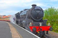 norr stationsångadrev whitby yorkshire arkivfoton
