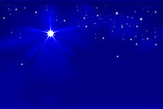 norr stjärna Arkivfoto