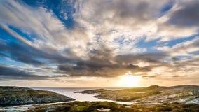 Norr strand Royaltyfri Fotografi