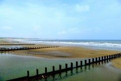 Norr strand, Bridlington Arkivfoton