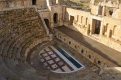 Norr teater, Jerash Royaltyfri Bild