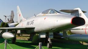 Norr - toppen sabel för amerikan F-100C arkivbild