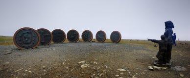 Norr udde norway Arkivbilder