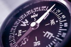 norr uppvisning för kompass Royaltyfri Fotografi