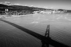 Norr Vancouver Arkivbild