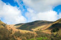 Norr Wales bygdlandskap Arkivbilder
