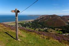 Norr Wales kust Royaltyfria Bilder