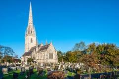 Norr Wales kyrka Royaltyfria Foton