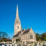 Norr Wales kyrka Arkivfoto