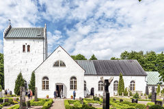 Norra Vrams church Stock Photography