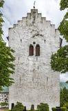 Norra Vrams church Steeple Stock Photo