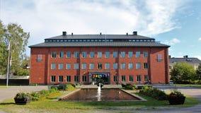 Norrbottenmuseum in Luleå royalty-vrije stock fotografie