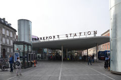 Norre Port Subway Station Stock Images