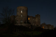 Norris Castle. In the full moon royalty free stock photography