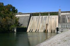 Norris Dam Royalty Free Stock Images