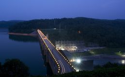 Norris Dam Stock Photography