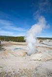 Norris Geyser Basin Images libres de droits