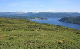 Norris Point from Partridgeberry Hill Royalty Free Stock Photography