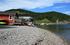 Norris Point Shore Stock Image