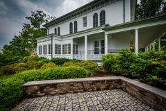 Norris Wachob Alumni House, sulla città universitaria di Gettysburg Coll Fotografia Stock